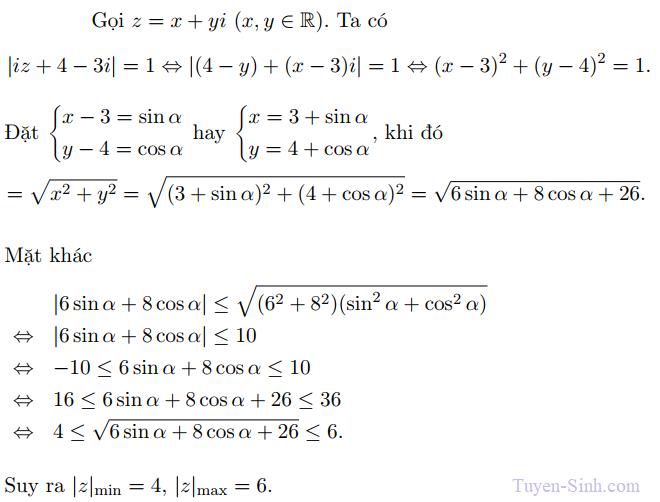 giải phương trình số phức bậc cao