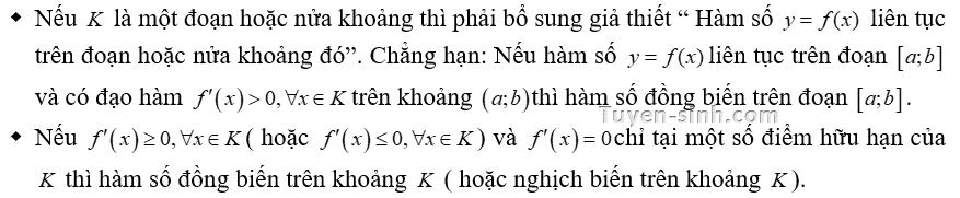 bài tập trắc nghiệm tính đơn điệu của hàm số