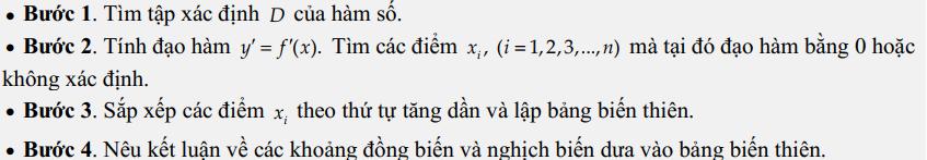 bài tập về tính đơn điệu của hàm số